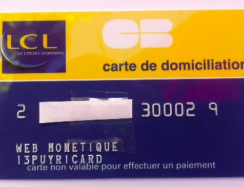 <strong>Carte domiciliation Bancaire</strong>