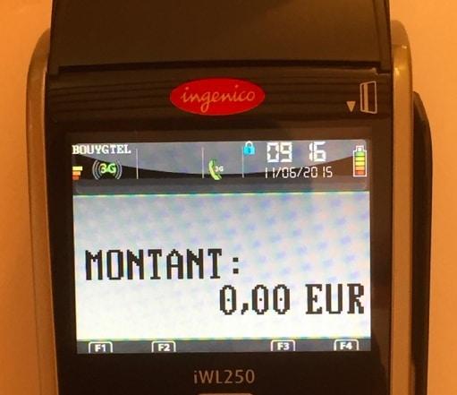 ecran iwl 250 3G
